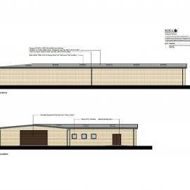 Architectural Impression of the New Light Industrial Unit
